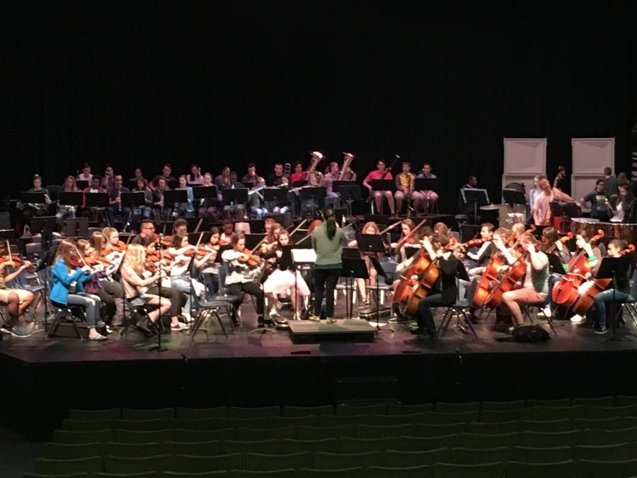 West Orchestra Performs Spring Concert