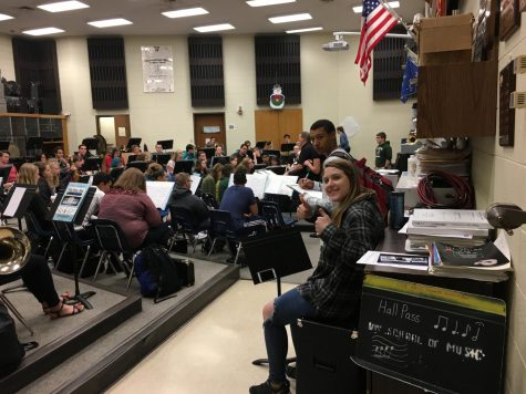TW Band Concert Showcases Broadway Tunes