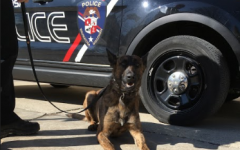 Canine unit Zev and his handler, Wauwatosa Police Officer Ben Ziegler