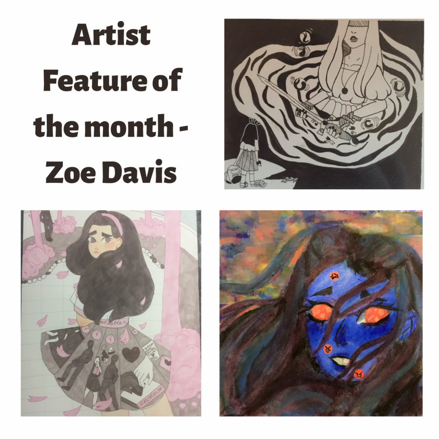 Artist Feature of the Month – December Q & A with Zoe Davis
